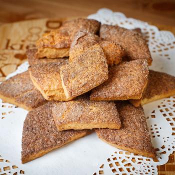 Печенье с корицей 300 гр. фасовка