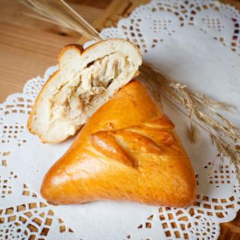 Пирожок рис/курица/грибы