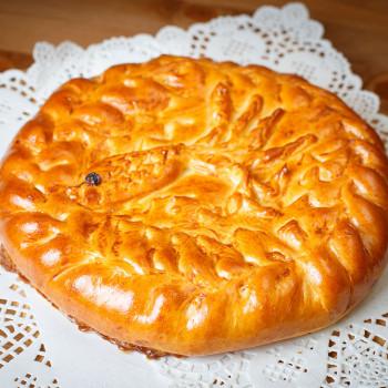 Пирог с рыбой (закрытый верх)