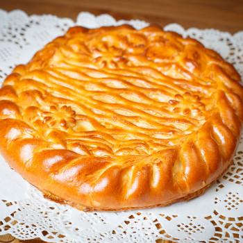 Пирог ветчина/сыр